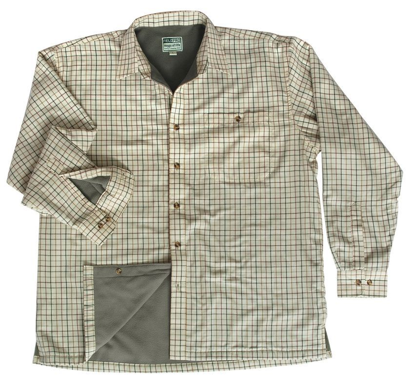 Birch Micro Fleece Lined Shirt