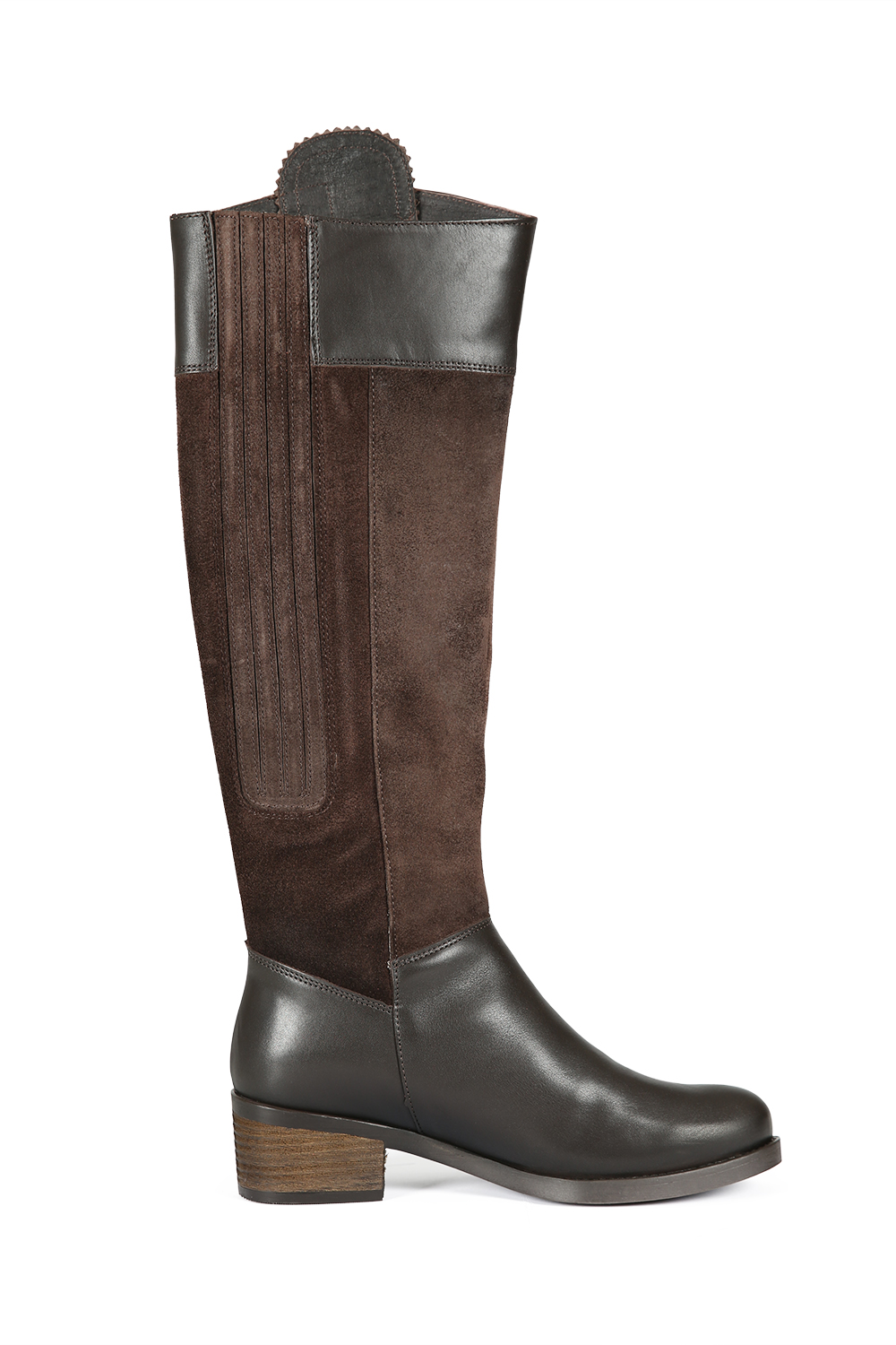 Mayfair Chocolate Leather Boot