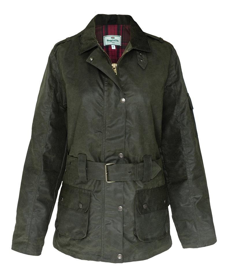Cheltenham Belted Waxed Jacket
