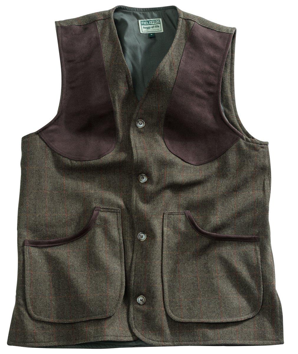 Harewood Tweed Shooting Vest