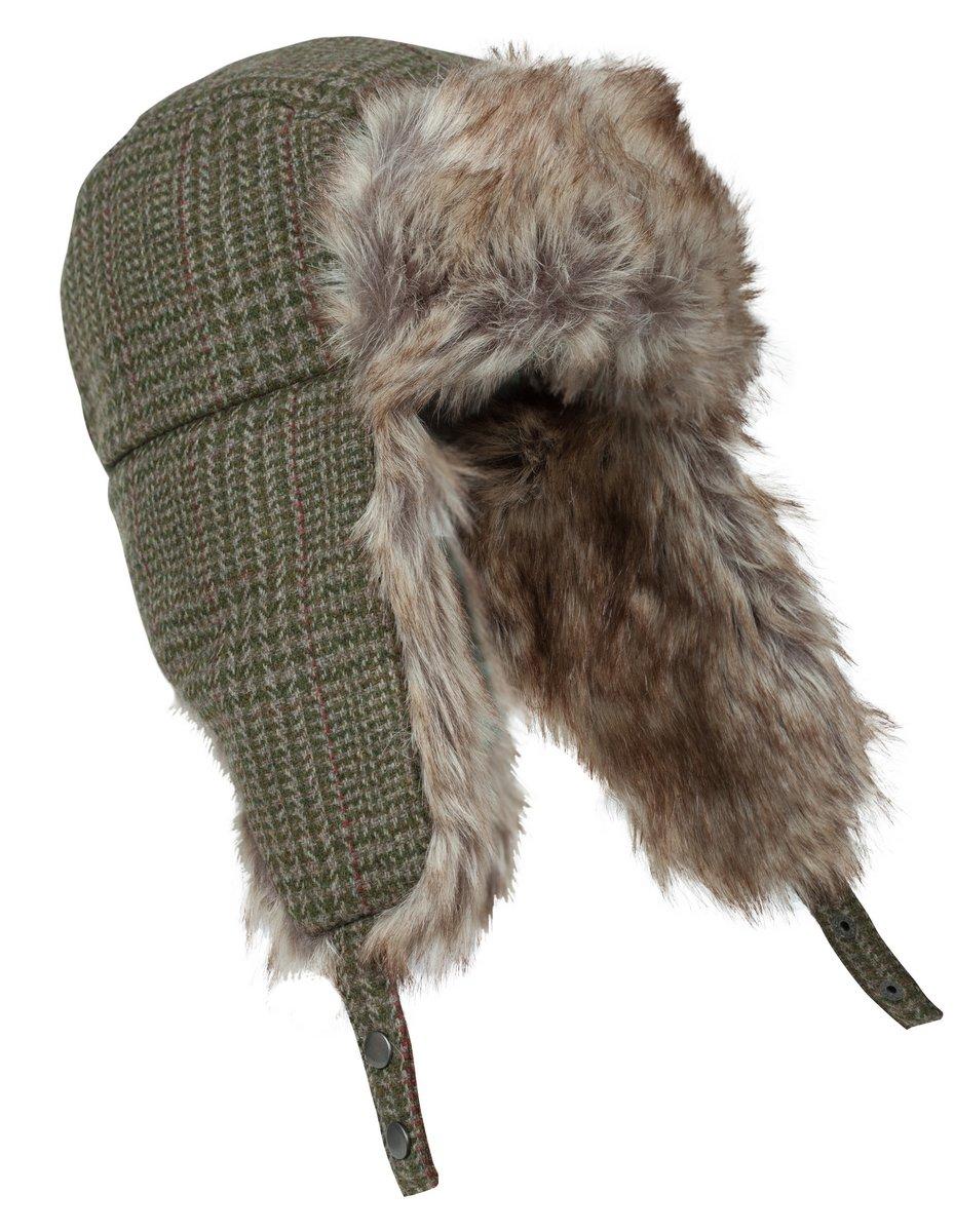 Invergarry Tweed Trapper Hat