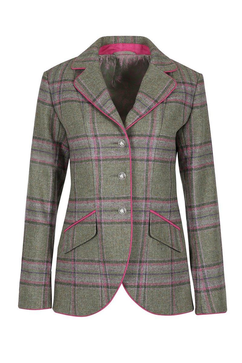 Isobel Meadow Pink Tweed Jacket