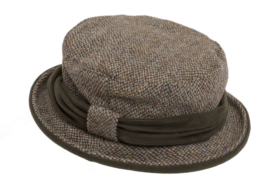 Harris Tweed Ladies Hat