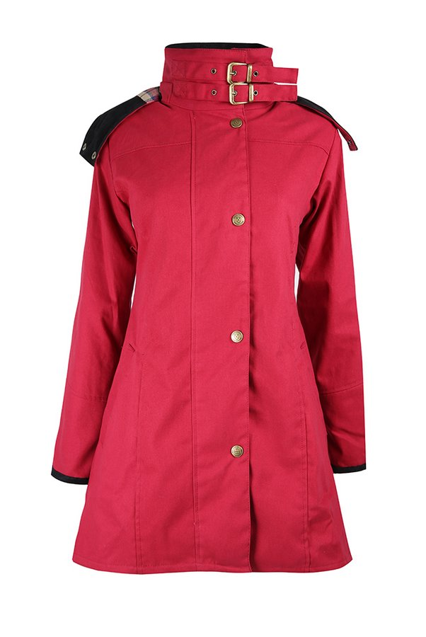 Odette Cranberry Waterproof Jacket