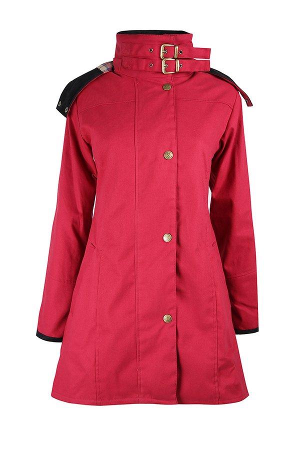 Odette Cranberry Waterproof Jacket