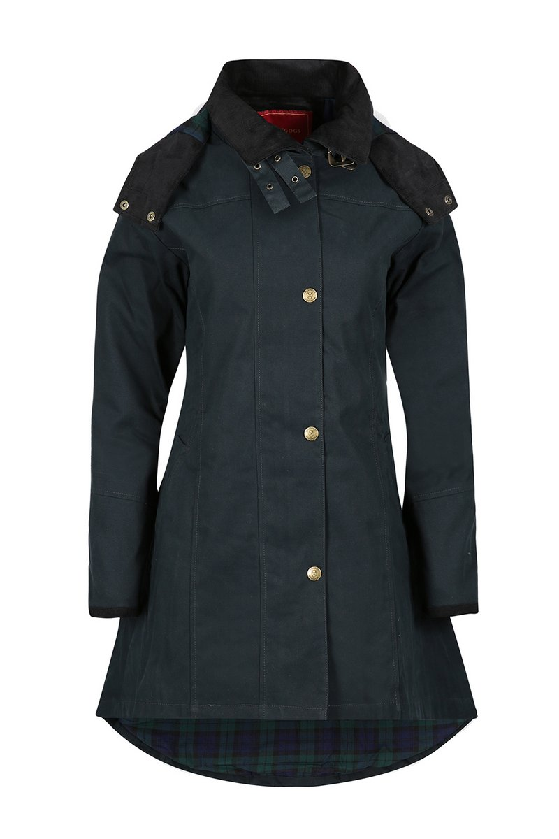 Odette Navy Waterproof Jacket