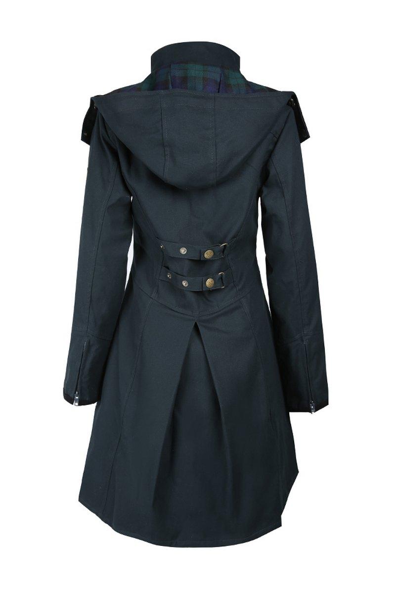 Odette Navy Waterproof Jacket