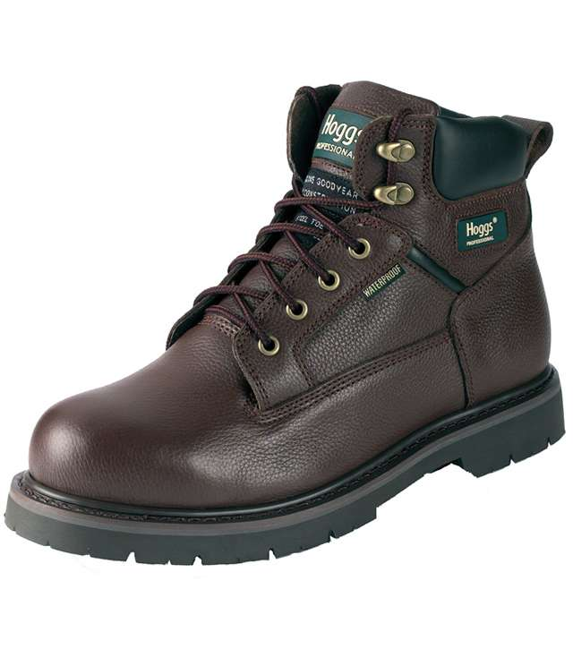 Saturn Brown Safety Boot