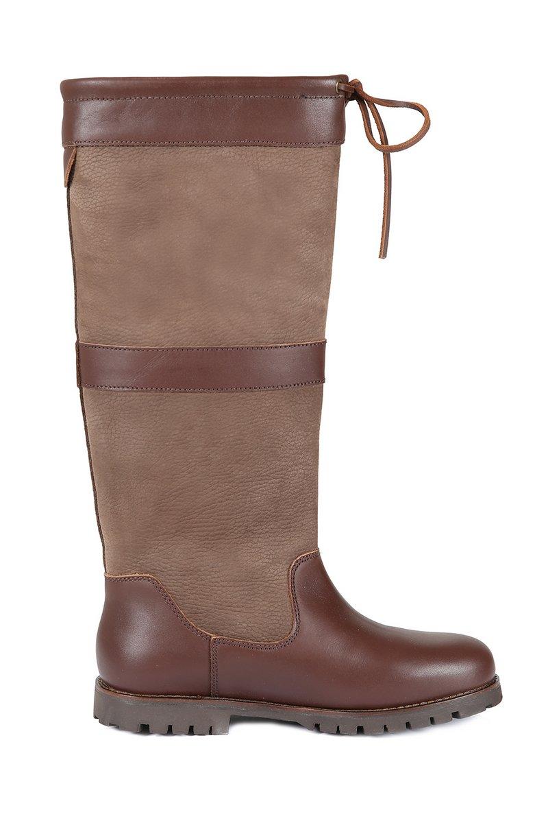 Sloane Mocha Leather Boot