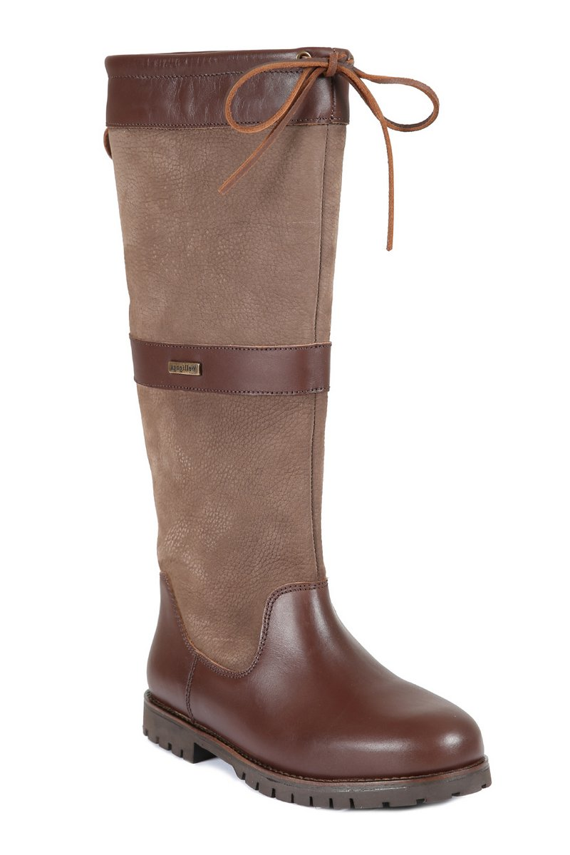 Sloane Mocha Leather Boots