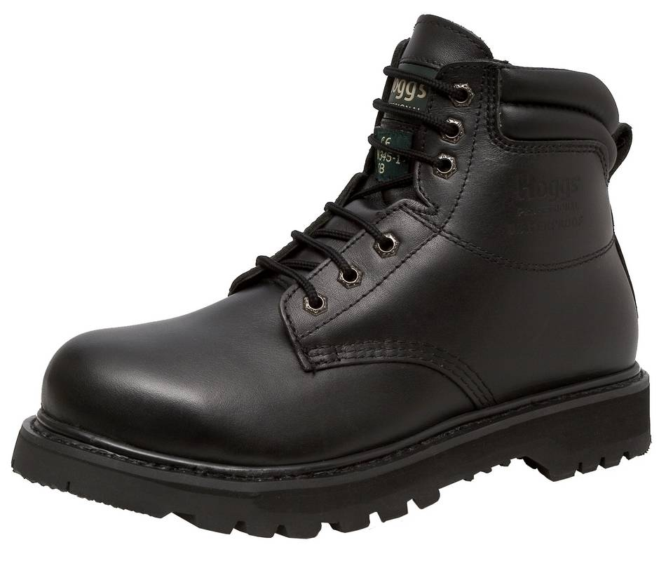 Tornado Black Safety Boot