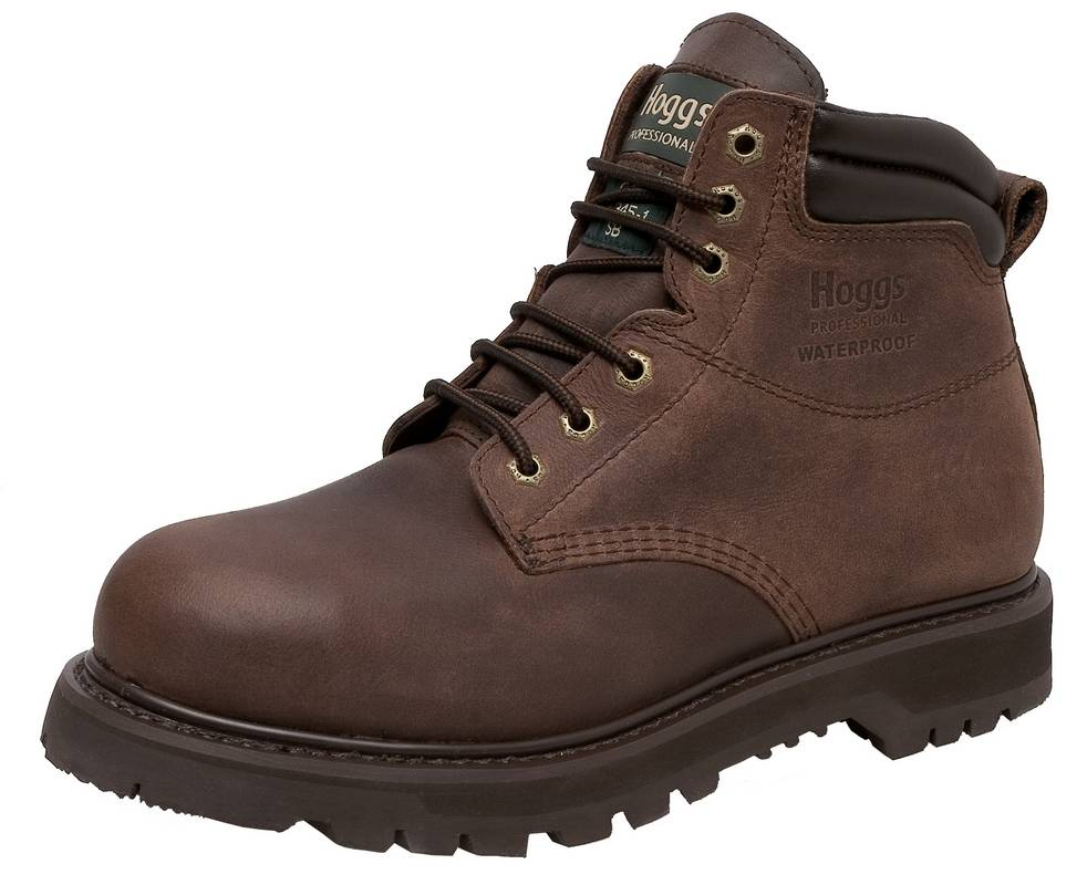 Tornado Brown Safety Boot