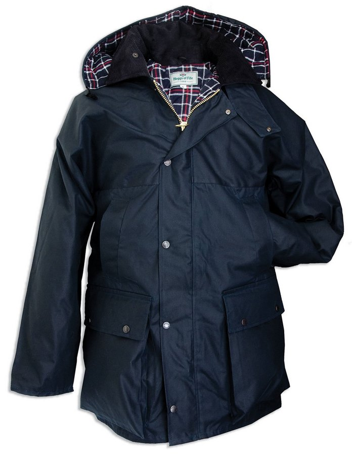 Padded Waxed Jacket