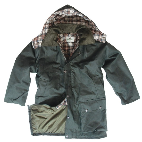 Junior Waxed Jacket