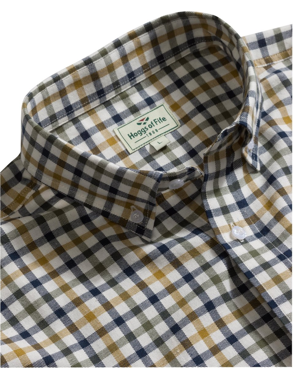 Trevose Short Sleeve Checked Shirt