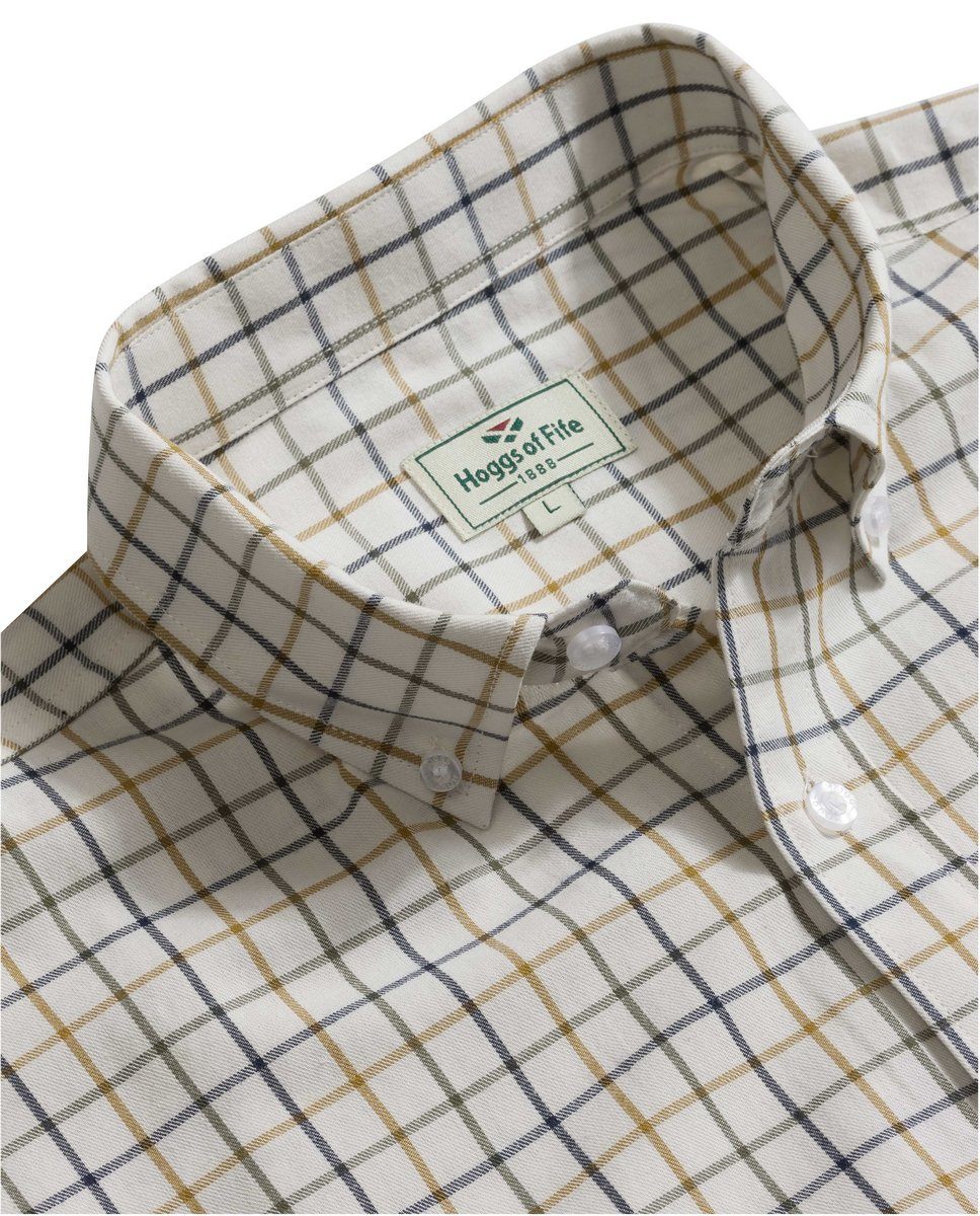 Berwick Short Sleeve Tattersall Shirt