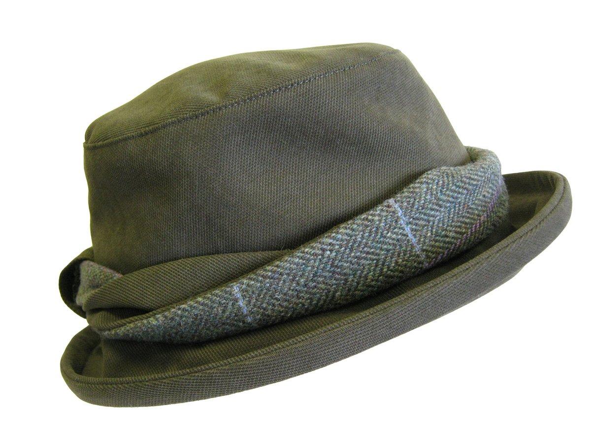 Albany Ladies Tweed Hat