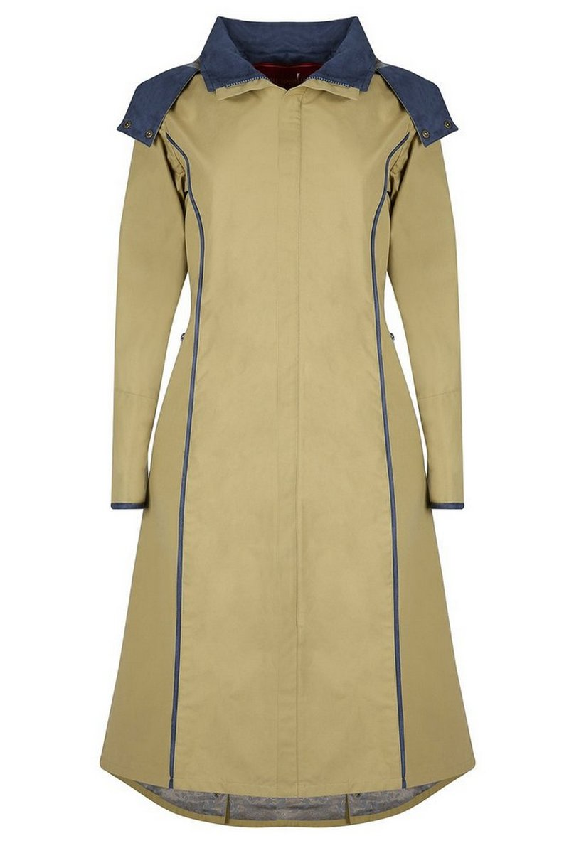 Eleanor Long Length Vanilla Coat