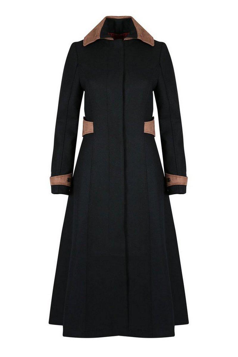 Elizabeth Black Coat