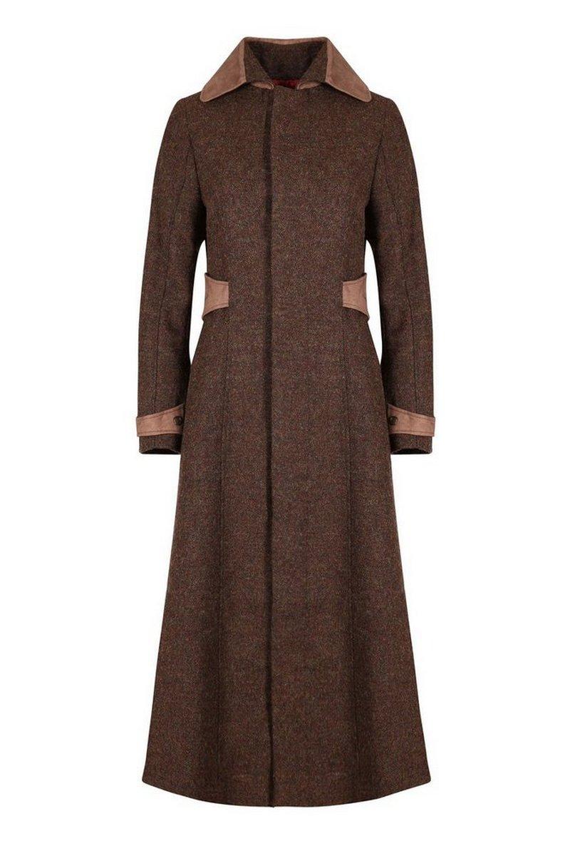 Elizabeth Mocha Coat