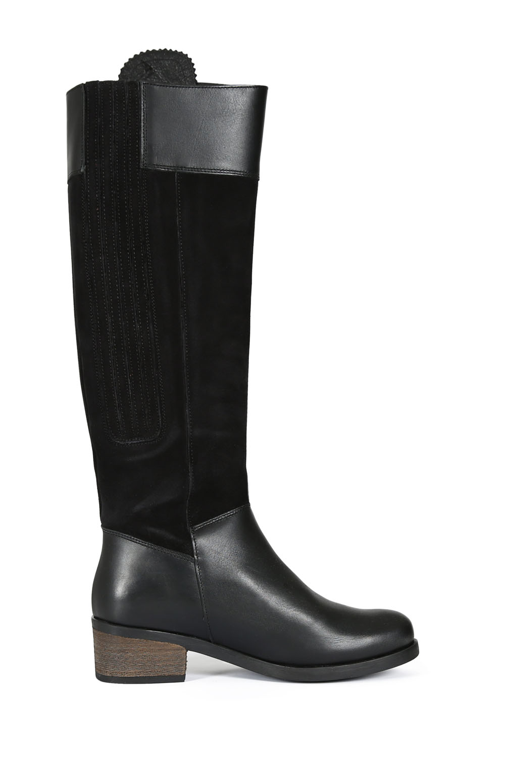 Mayfair Black Leather Boots