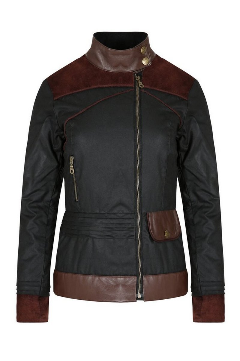 Roxy Contrast Waxed Jacket