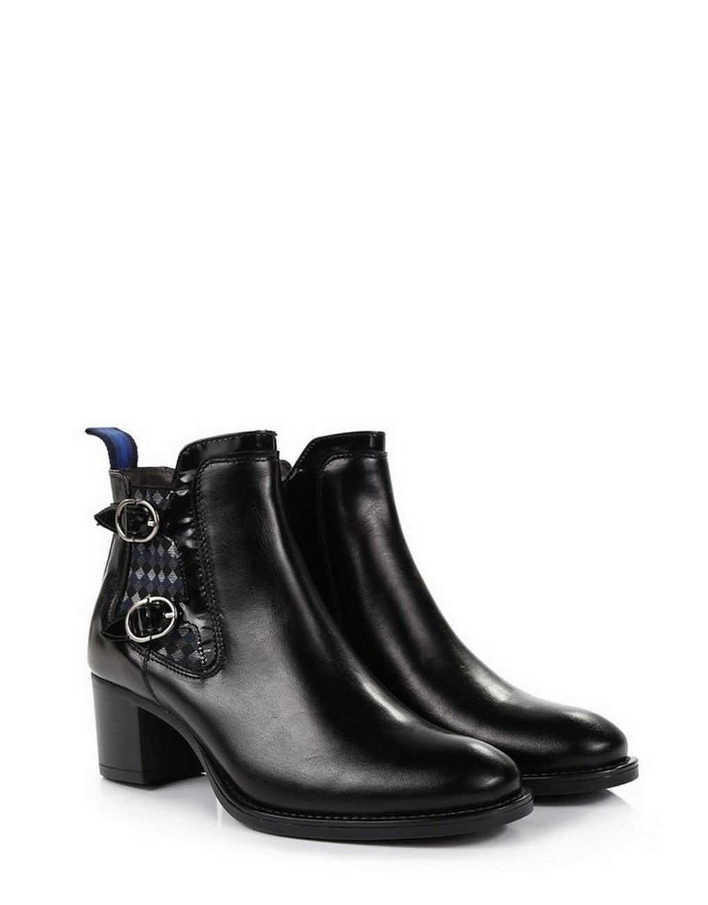 d446667d962 Welligogs Arya Black Leather Ankle Boots