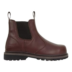 Hoggs of Fife Zeus Safety Dealer Boot Brown Colour