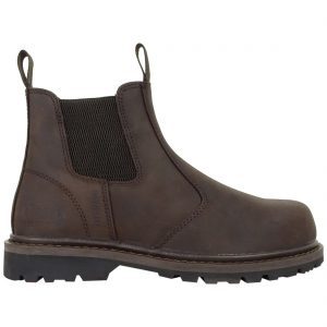 Hoggs of Fife Zeus Safety Dealer Boot Dark Brown